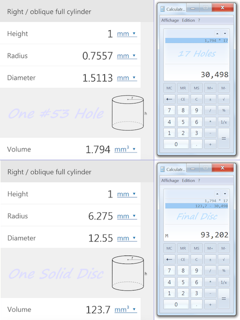 Hole & Disc Volume Calculation [480x640] .PNG