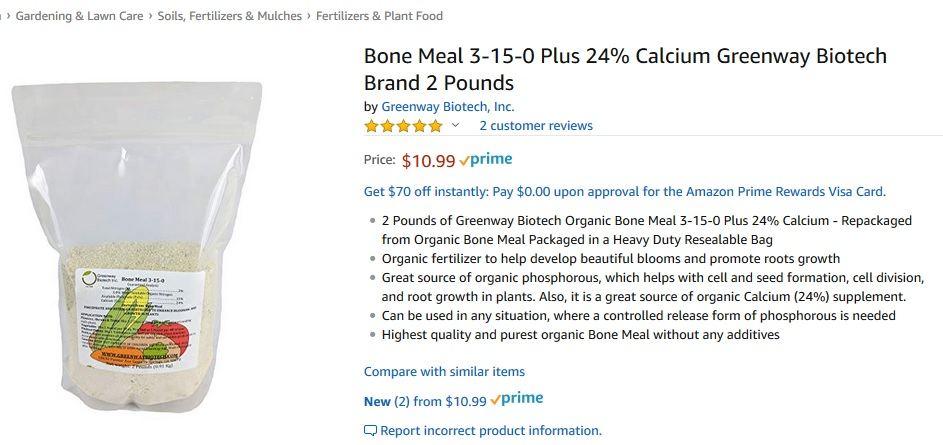 Bone Meal - Powdered Vs  Liquid - Uses And Benefits